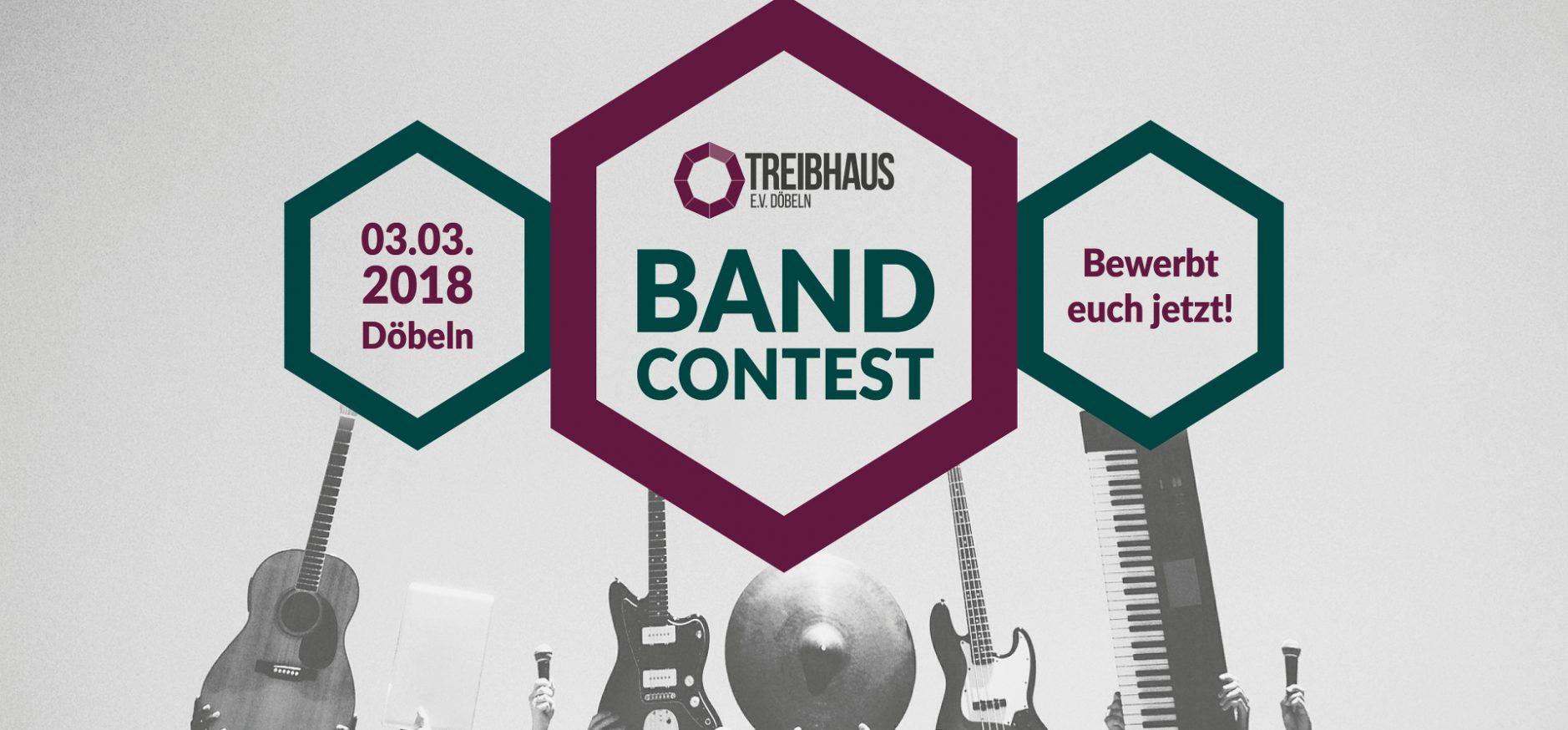 Jetzt anmelden für den Bandcontest 2018!